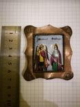 Икона миниатюрная, емаль, за реставрации, фото №10