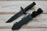 Нож Gor32 в пластиковых ножнах, фото №2
