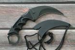 Нож Керамбит черный F-19, фото №4