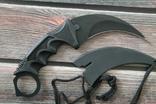Нож Керамбит черный F-19, фото №6