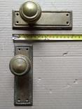 Дверные ручки. Латунь., фото №5