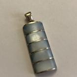 Кулон подвеска серебро 925 пробы 7.4 грамма, фото №3