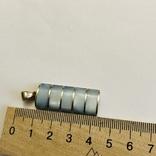 Кулон подвеска серебро 925 пробы 7.4 грамма, фото №4