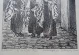 """""""Раввины,выходящие из синагоги """" Золотая Роза"""" во Львове., фото №3"""