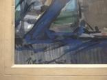 """Наглядная агитация"" б/акв. 40х52. 1957 г. Гр. Крижевский, фото №5"