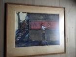"""Наглядная агитация"" б/акв. 40х52. 1957 г. Гр. Крижевский, фото №11"