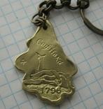 Брелок у вигляді листка-дендропарк Софіївка, фото №3