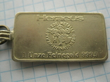 Брелок у вигляді унційного банківського золота  2, фото №3
