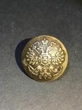 Пуговица чинов морского ведомства царской России (2) на белом фоне, фото №2