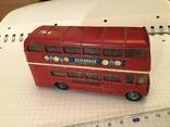 Автобус Двухэтажный Англия corci toys London transport  Routemaster, фото №2