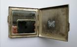 Серебрянная пудреница 875 пробы, фото №7