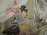 Настенная тарелка - Художница - Япония ., фото №4
