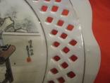 Настенная тарелка - Художница - Япония ., фото №5