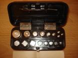 Весы равноплечные ручные + набор гирь, фото №3