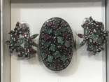 Серебро Натуральные камни, фото №5