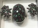 Серебро Натуральные камни, фото №6