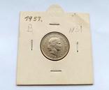 Швейцария 10 раппен 1957