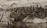 1758 Сенс Шампань Франция (карта план 37х21 Верже) СерияАнтик, фото №2