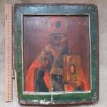 Ковчежный (Николай Чудотвориц) 18 века(26,5×30,5 см.), фото №2