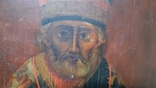 Ковчежный (Николай Чудотвориц) 18 века(26,5×30,5 см.), фото №4