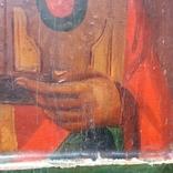 Ковчежный (Николай Чудотвориц) 18 века(26,5×30,5 см.), фото №7
