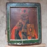 Ковчежный (Николай Чудотвориц) 18 века(26,5×30,5 см.), фото №11