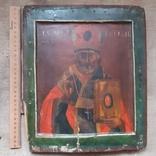 Ковчежный (Николай Чудотвориц) 18 века(26,5×30,5 см.), фото №13