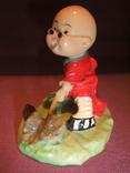 Фигурка - миниатюра *Учёный самурай* сувенир из Японии., фото №6