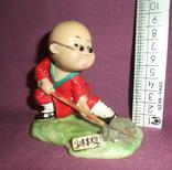 Фигурка - миниатюра *Учёный самурай* сувенир из Японии., фото №8