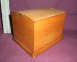 Сигаретница - папиросница. Дерево ручное изготовлоение., фото №4