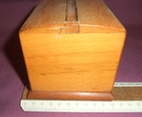 Сигаретница - папиросница. Дерево ручное изготовлоение., фото №8