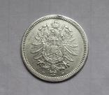 20 пфеннигов 1874 (F), Германия, серебро, фото №6