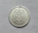 20 пфеннигов 1874 (F), Германия, серебро, фото №7