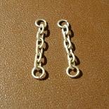 Копия цепей на знак(серебро 925), фото №4