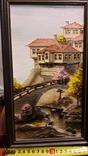 """Картина """"Мост"""" Б.М. Тодоров (Болгария) 1996 год, фото №2"""