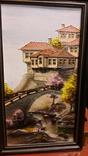 """Картина """"Мост"""" Б.М. Тодоров (Болгария) 1996 год, фото №4"""