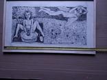 """""""Тамара и Демон"""" б./тушь.35х60 см. Виктор Пвлов, фото №5"""