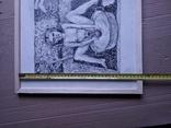 """""""Тамара и Демон"""" б./тушь.35х60 см. Виктор Пвлов, фото №6"""