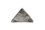 Заготовка-вставка з метеорита Seymchan, 6,6 г, із сертифікатом автентичності, фото №2
