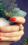 Серьги / кольцо с жемчугом, 585*. 9,55 гр., фото №4