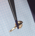 Серьги / кольцо с жемчугом, 585*. 9,55 гр., фото №10