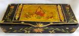 Шкатулка - коробка - хьюмидор для хранения сигар. Дерево авторская ручная работа., фото №3
