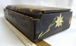 Шкатулка - коробка - хьюмидор для хранения сигар. Дерево авторская ручная работа., фото №7