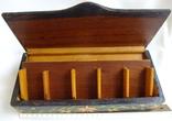 Шкатулка - коробка - хьюмидор для хранения сигар. Дерево авторская ручная работа., фото №10