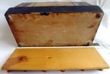 Шкатулка - коробка - хьюмидор для хранения сигар. Дерево авторская ручная работа., фото №12