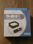 Лупа настольная TH-8016 Увеличение 10х/15х/20х крат со шкалой и подсветкой, фото №2