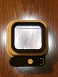 Лупа настольная TH-8016 Увеличение 10х/15х/20х крат со шкалой и подсветкой, фото №3