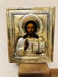 Икона Господь Вседержитель с эмалью., фото №7