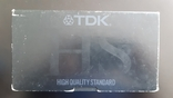 Відеокасета TDK HS №3, фото №2