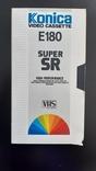 Відеокасета Konica Super SR E-180 №2, фото №2